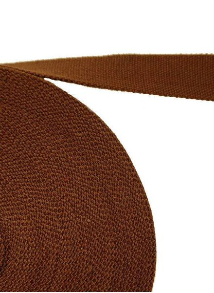 cotton webbing brown