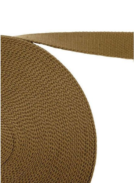 cotton webbing green olive