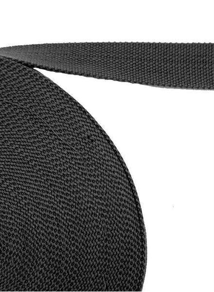 tassenband antraciet grijs