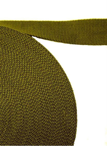 cotton webbing khaki