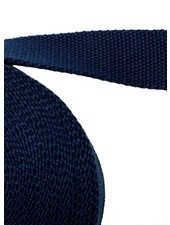 cotton webbing blue marine