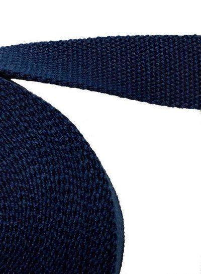 cotton webbing blue marine