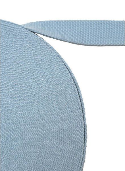 cotton webbing baby blue