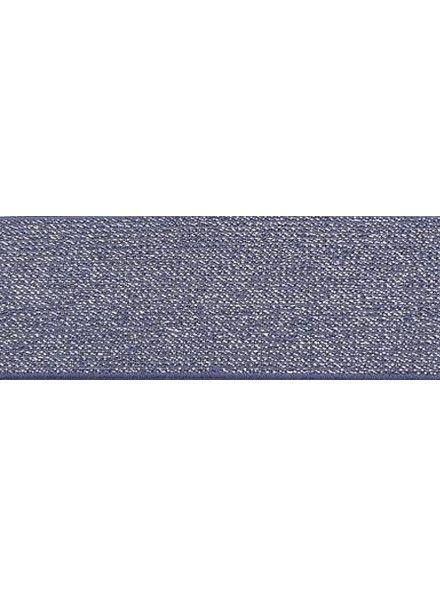 lila 5cm glitter taille elastiek