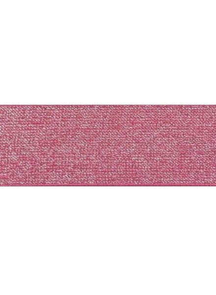 Glitter elastic fushia