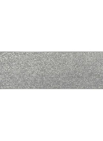Glitter elastic grey
