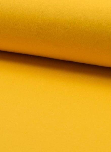 geel- effen french terry oeko tex