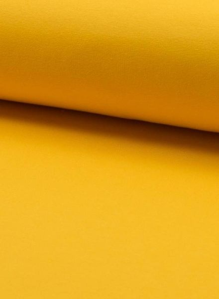yellow- solid french terry oeko tex
