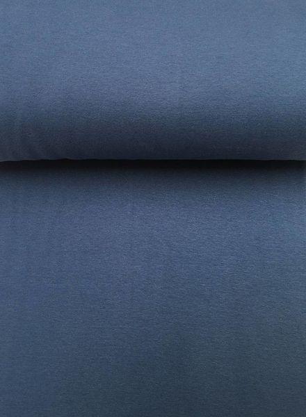 rib cuff jeans blue