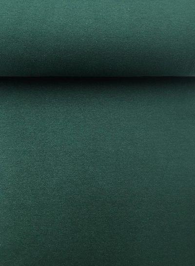 rib cuff dark green