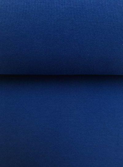boordstof ribbel kobaltblauw
