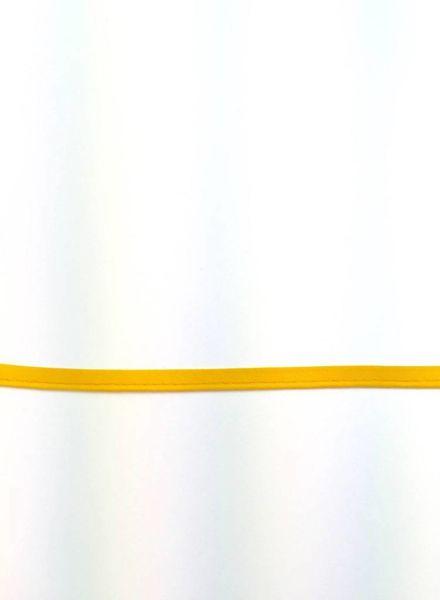 piping lemon yellow