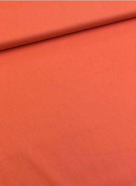 solid cotton orange