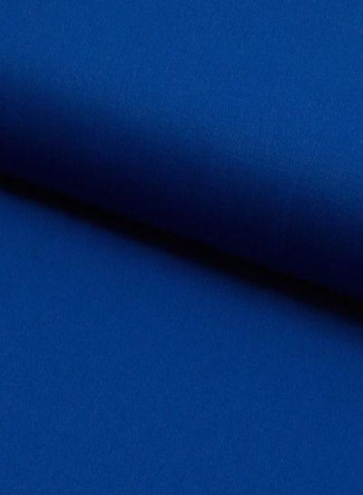 effen katoen kobaltblauw