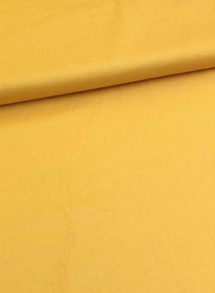 solid cotton sun yellow