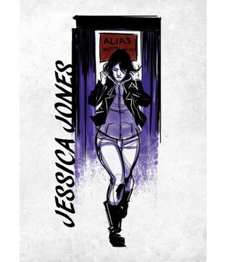 Marvel Marvel Metall-Poster: Jessica Jones (The Defenders)