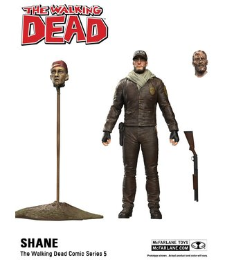 McFarlane Toys The Walking Dead Comic Series 5: Shane Figur