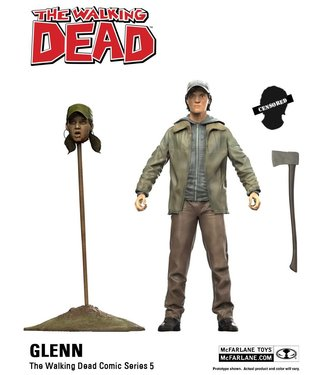 McFarlane Toys The Walking Dead Comic Series 5: Glenn Figur