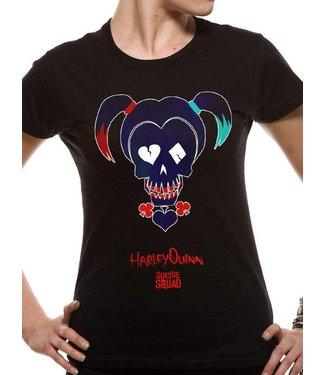 DC Comics Girlie T-Shirts: Harley Quinn (Suicide Squad)
