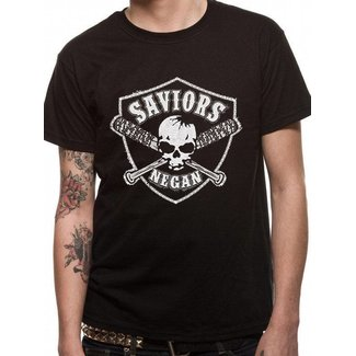 The Walking Dead T-Shirts: Negan's Saviors (Lucille Skull Crest)