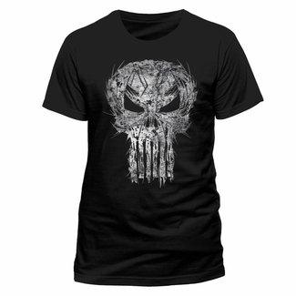 Marvel T-Shirts: The Punisher (Shatter Skull)