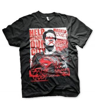 DC Comics T-Shirts: Superman (False God)