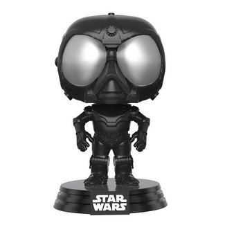 Funko Star Wars Rogue One: Death Star Droid (Black) Vinyl Bobble-Head Figur