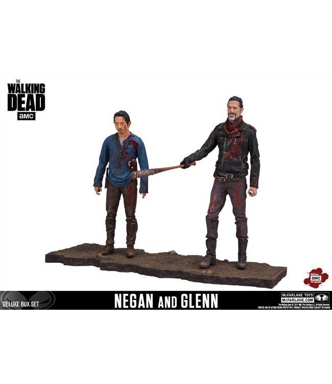 McFarlane Toys The Walking Dead: Negan & Glenn Actionfiguren (Deluxe)