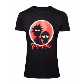 Rick and Morty Rick and Morty: Big Red Logo T-Shirt