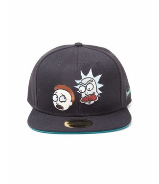 Rick and Morty Rick and Morty: Crazy Faces Snapback Cap