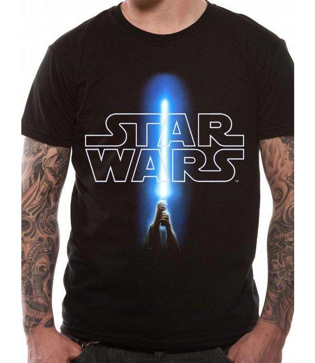 Star Wars Star Wars: Logo & Saber T-Shirt
