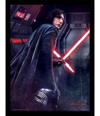 Star Wars Star Wars: Kylo Ren Poster im Rahmen