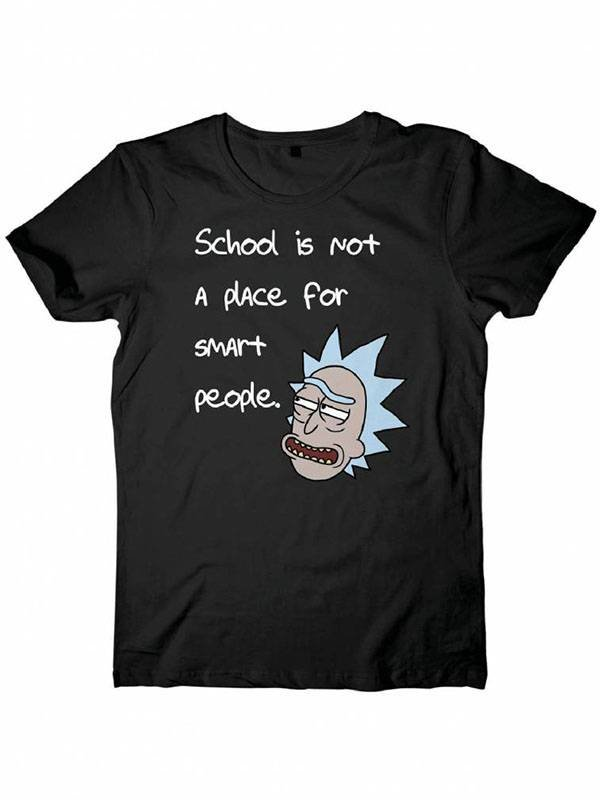 Rick and Morty | School T-Shirt