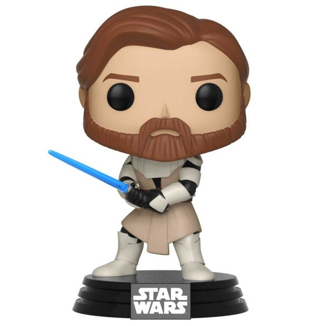 Funko Star Wars   Obi Wan Kenobi (Clone Wars) Vinyl Figur