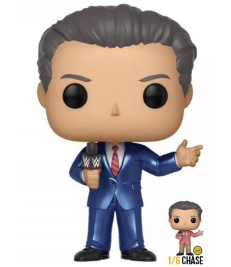 Funko WWE | Vince McMahon (Chase Chance) Vinyl Figur