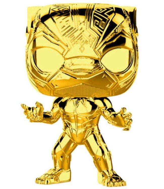 Funko Marvel | Black Panther (Gold Chrome) Funko Pop Vinyl Figur