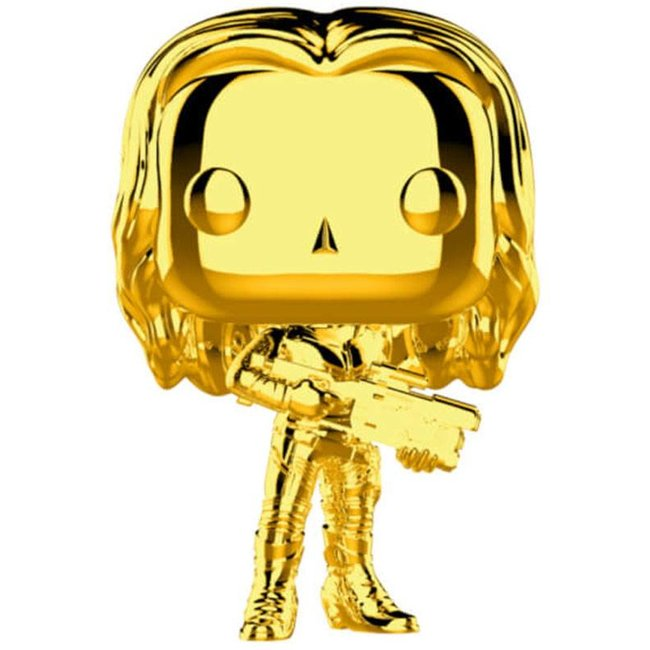 Funko Marvel | Gamora (Gold Chrome) Funko Pop Vinyl Figur