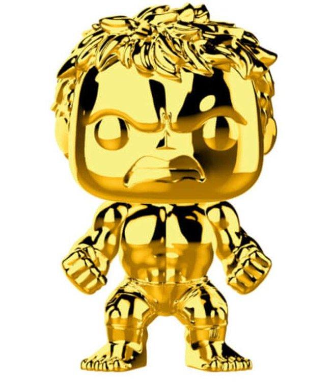 Funko Marvel | Hulk (Gold Chrome) Funko Pop Vinyl Figur