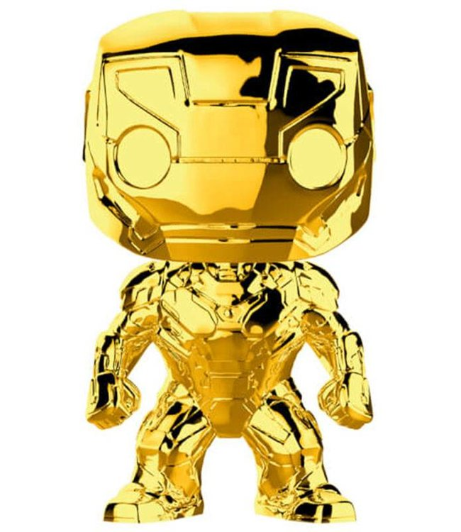 Funko Marvel | Iron Man (Gold Chrome) Funko Pop Vinyl Figur