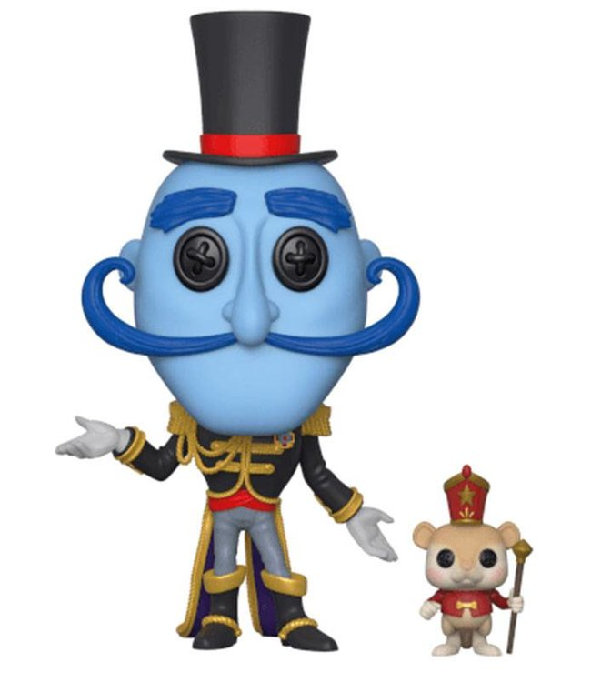Funko Coraline | Mr. Bobinsky with Mouse Funko Pop Vinyl Figur