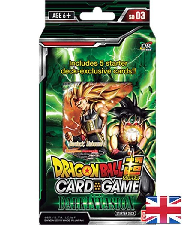 Bandai Dragonball Super | The Dark Invasion Starter Deck