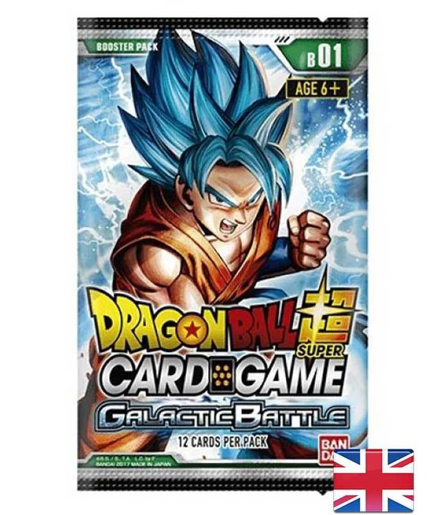 Bandai Dragonball Super | Galactic Battle Booster