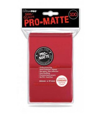 Ultra Pro Ultra Pro | Pro Matte Red Sleeves