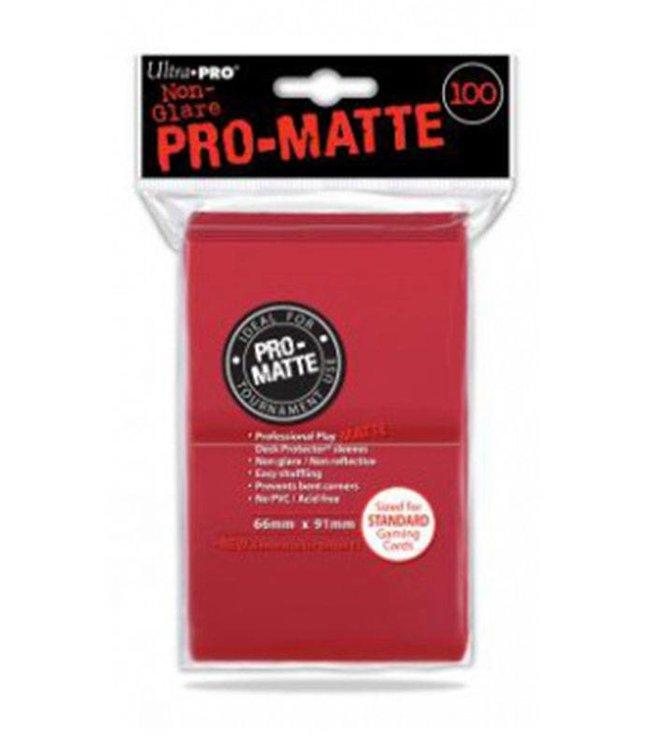 Ultra Pro Ultra Pro | Pro Matte Red Sleeves