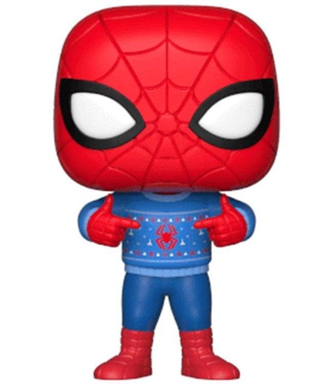Funko Marvel Holiday   Spider-Man Funko Pop Vinyl Figur