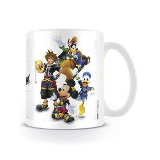Disney Kingdom Hearts   Group Tasse