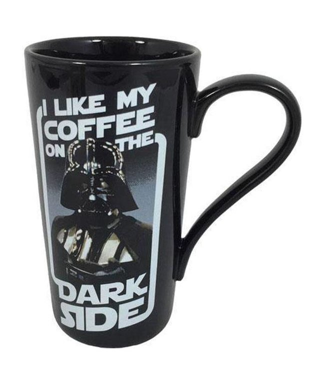 Half Moon Bay Star Wars | Dark Side Latte Macchiato Tasse