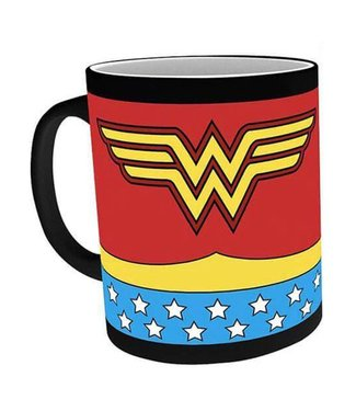 GB eye Wonder Woman | Tasse mit Thermoeffekt