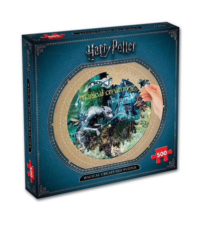 Winning Moves Harry Potter | Magical Creatures Puzzle