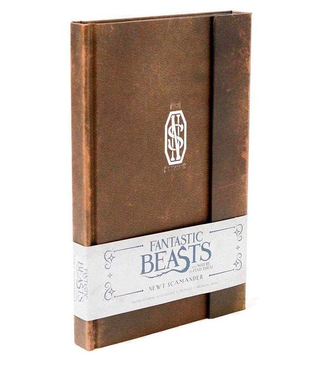 Insight Editions Fantastic Beasts | Newt Scamander Notizbuch